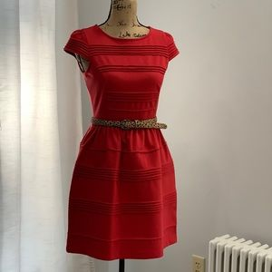 🛍 Elle red dress new with tags size 4